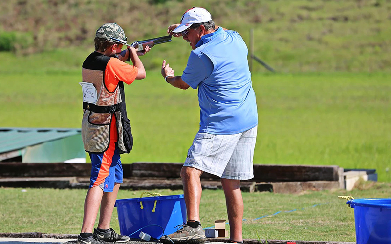 Shooting Lesson with Ray Brown